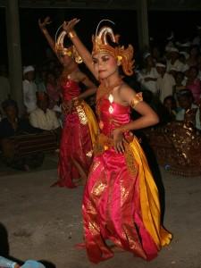 Balijská tanečnice